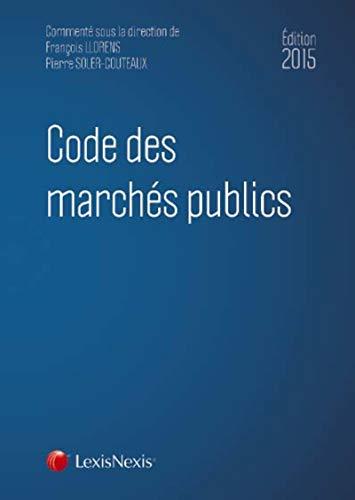9782711022366: Code des marchés publics 2015