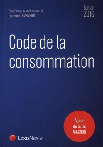 9782711022830: Code de la consommation 2016