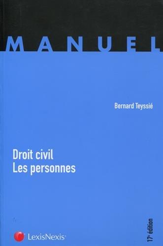 Droit civil : les personnes