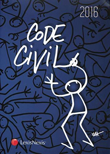 9782711023806: Code civil 2016 : Jaquette Elyx