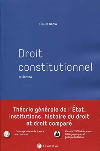 9782711030798: Droit constitutionnel