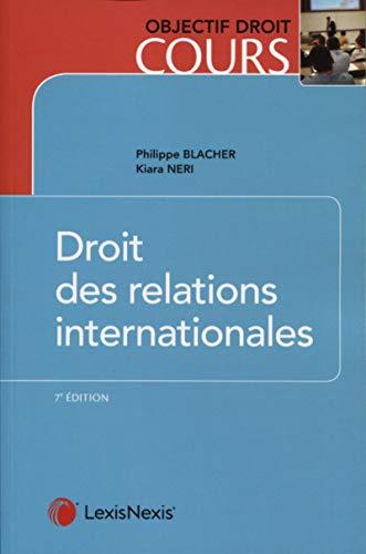 9782711030927: Droit des relations internationales