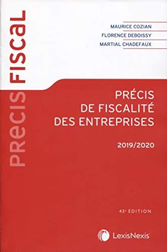 9782711031061: Précis de fiscalité des entreprises 2019/2020