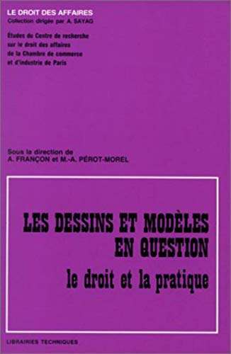 Les dessins et modèles en question (French Edition): Ccip Chambre Co