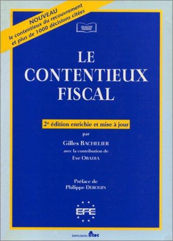 9782711127191: Le Contentieux Fiscal