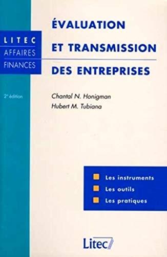 9782711130474: Diagnostic, évaluation et transmission de l'entreprise, 2e édition. Instruments et pratiques