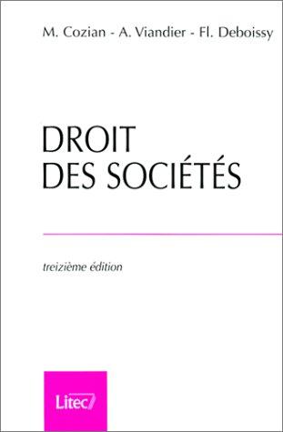 9782711132270: Droit des sociétés (ancienne édition)