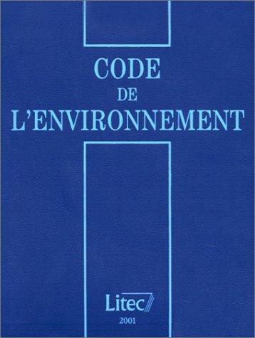 9782711132904: Code De l'Environnement (French Edition)