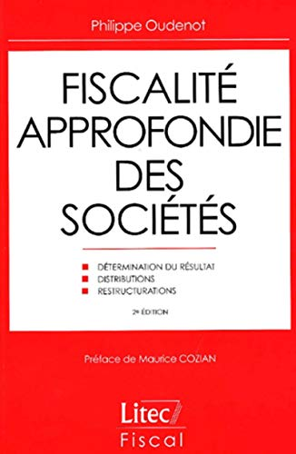 9782711133024: Fiscalit� approfondie des soci�t�s