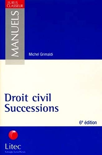 9782711133529: Droit civil, successions