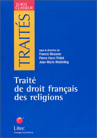 9782711135141: traite de droit francais des religions
