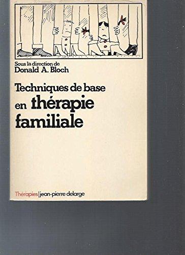 9782711301409: Techniques de base en thérapie familiale