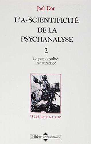 9782711303694: L'a-scientificite de la psychanalyse 2