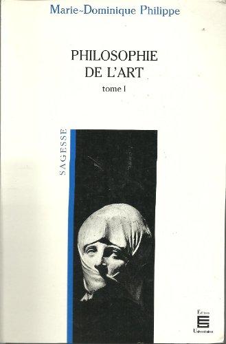 Philosophie de l'art,. tome 1: n/a