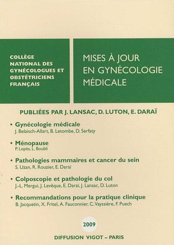 9782711404087: Mises � jour en gyn�cologie m�dicale