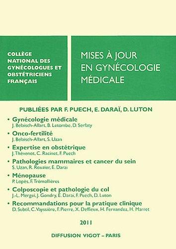 Maj en gynecologie medicale 2011: Puech Francis