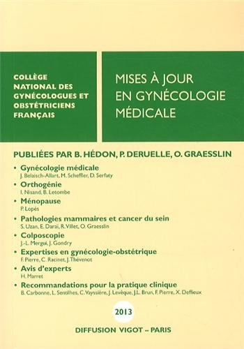 Maj en gynecologie medicale 2013