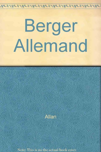 9782711413157: Le berger allemand