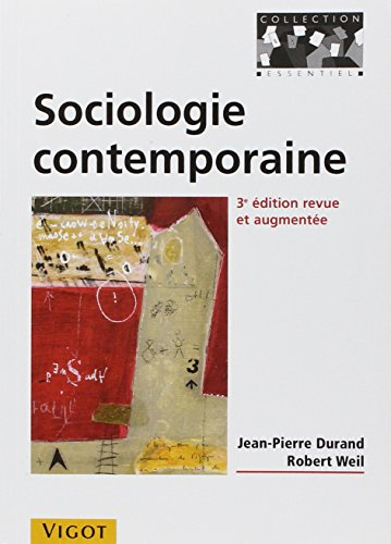 sociologie contemporaine (3e edition): Collectif