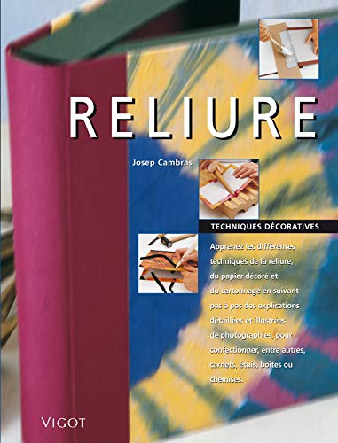 Reliure (French Edition): Josep Cambras