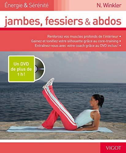 Jambes, fessiers et abdos (1DVD) (French Edition): Nina Winkler