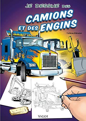 9782711421428: Je dessine des camions et des engins (French Edition)