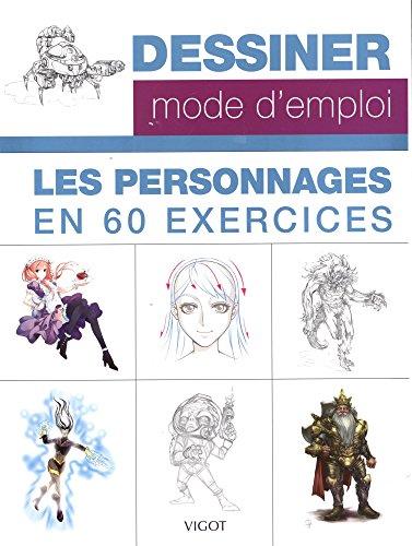 9782711424887: Les personnages en 60 exercices