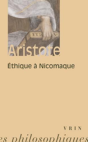 9782711600229: Ethique à Nicomaque