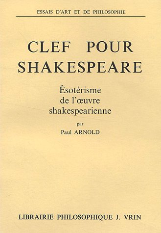 9782711600304: Clef pour Shakespeare
