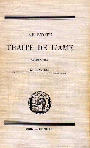 9782711608744: Aristote traite de l'ame