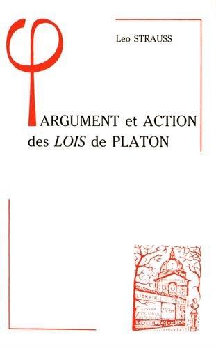 9782711610211: Argument et action des Lois de Platon