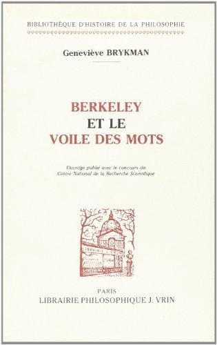 9782711611362: Berkeley et le voile des mots