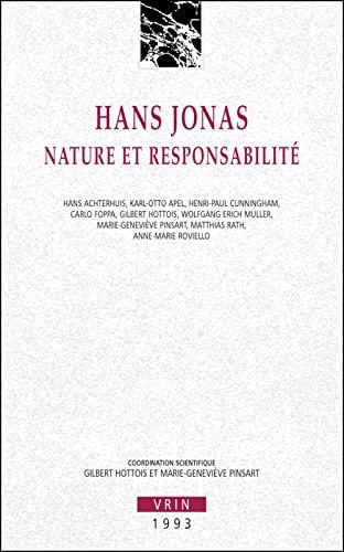 9782711611683: Hans Jonas. Nature et responsabilit�