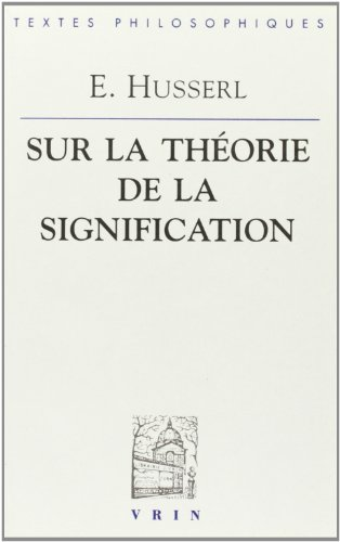 9782711612512: Le�ons sur la th�orie de la signification