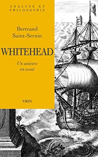 9782711614479: Whitehead, un univers en essai