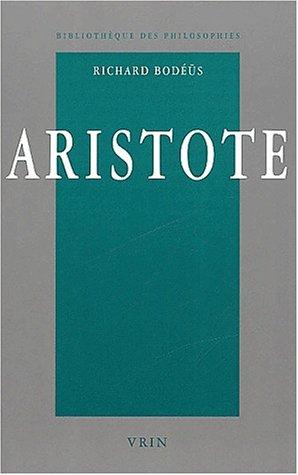 9782711615643: Aristote: Une Philosophie En Quete de Savoir (Bibliothèque des philosophies)