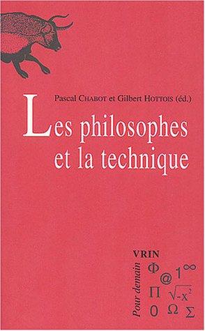 9782711616183: Les philosophes et la technique