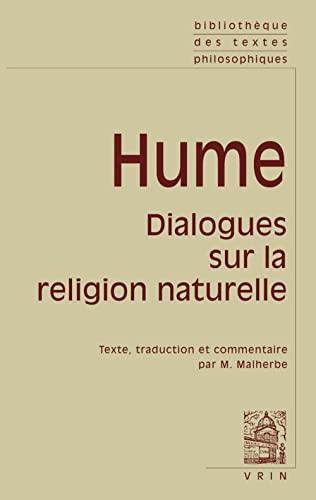 Dialogues sur la religion naturelle (Bibliothèque des: David Hume
