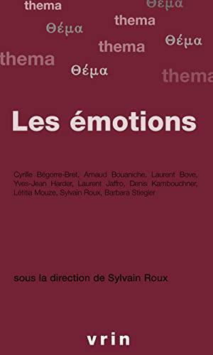 Les emotions: Roux, Sylvain