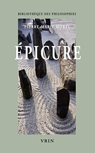9782711622399: Epicure (Bibliothèque des philosophies)