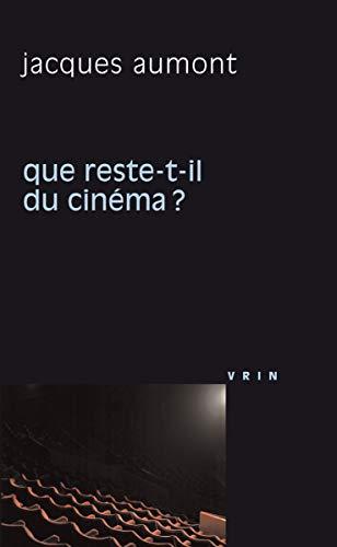 Que reste t il du cinema: Aumont Jacques