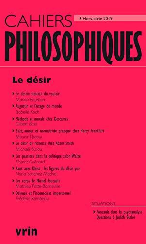 9782711660087: Le désir (Cahiers Philosophiques, Hors Série 2019)