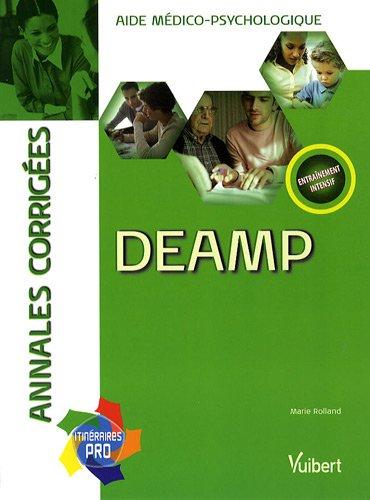 9782711716227: DEAMP : Annales corrigées aide médico-psychologique