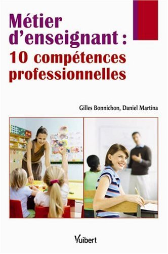9782711718795: Métier d'enseignant : 10 compétences professionnelles