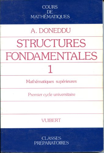 9782711720477: CRS MATHS T1 . STRUCTURES FONDAMENTALES