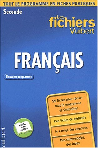 9782711737130: Français Seconde (Fichiers Vuibert)