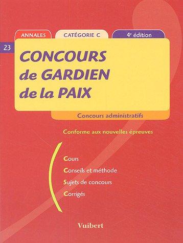 Concours de Gardien de la paix : Saladin, Jean-Christophe, Bruneteau,