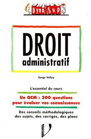 9782711774319: Droit administratif