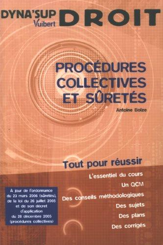 9782711774968: Proc�dures collectives et s�ret�s