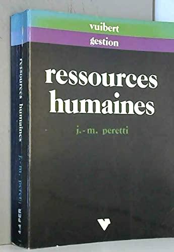 Fonction personnel et management des ressources humaines: Jean-Marie Peretti